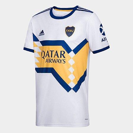 Camisa Boca Juniors Away 20/21 s/n° Torcedor Adidas