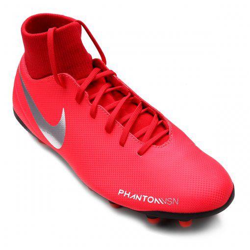 NIKE Phantom Vsn Club Chaussures de Football pour Enfants Blanc