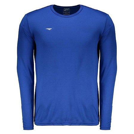 Camiseta Penalty Matís 2 IX Manga Longa Masculina - Azul