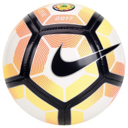 Mini Bola Nike CSF Skill - Branco e Laranja