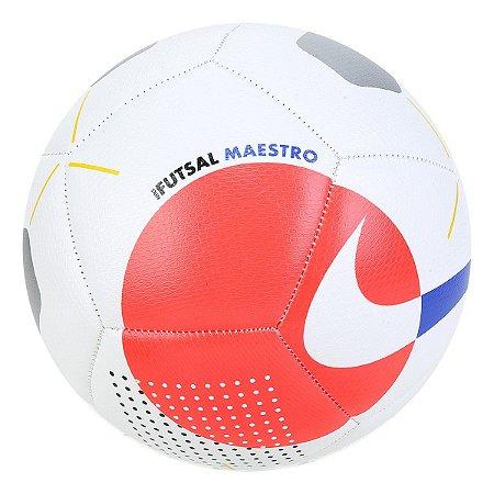 Bola de Futsal Nike Maestro - Branco e Azul