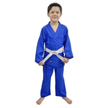 Kimono Judo Infantil Shinai Reforçado - Azul