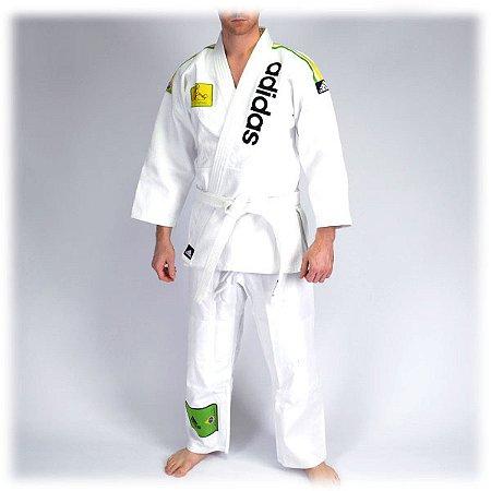 Novo Adidas Brazilian Jiu-jitsu Tecido Único Gi Uniforme Brasileiro JJ500 Edição Limitada Jiujitsu