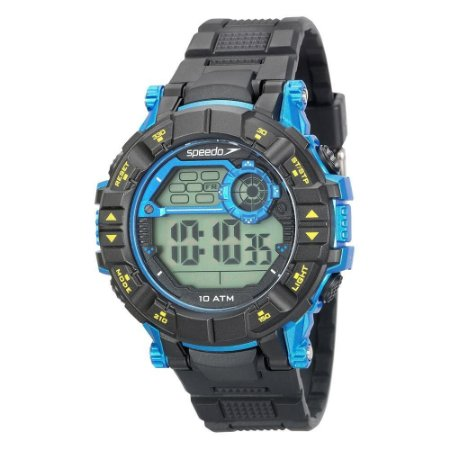 Relógio Masculino Digital Speedo 80628g0evnp1 - Preto