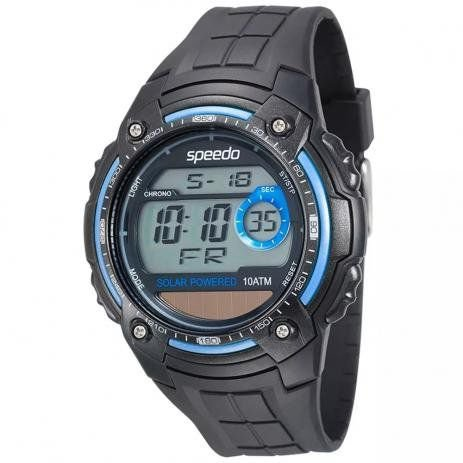Relógio Digital Masculino Speedo 81112G0EVNP2 - Preto