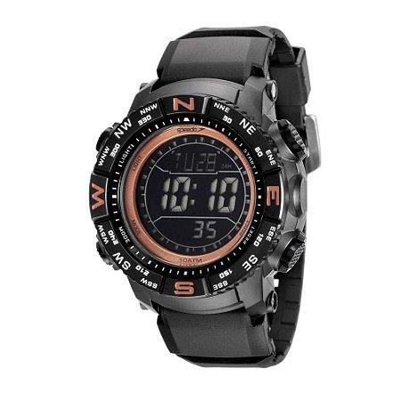 Relógio Speedo Masculino Preto 81137G0EVNP4