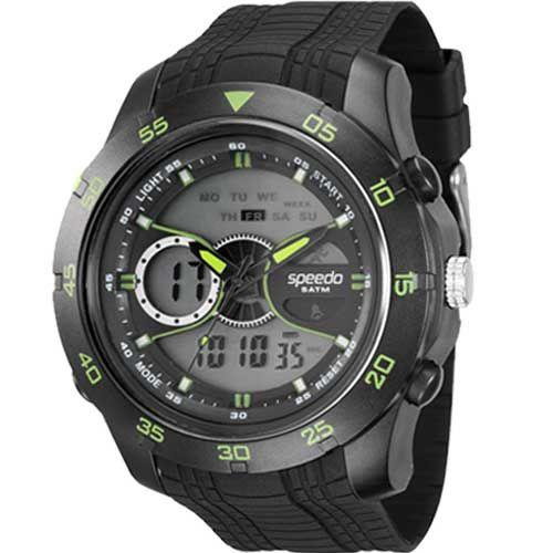 Relógio Masculino Anadigi Speedo 81126G0EVNP2 - Preto