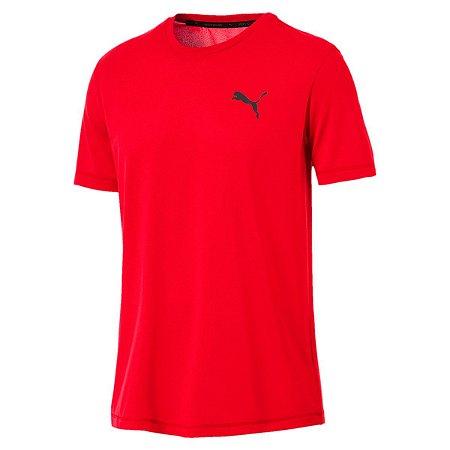 Camiseta Puma Active Masculina - Vermelho Claro