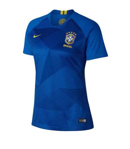 Camisa Brasil II Nike 2018 Feminina