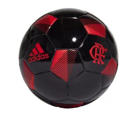 Minibola Adidas CR Flamengo - Preto e Vermelho
