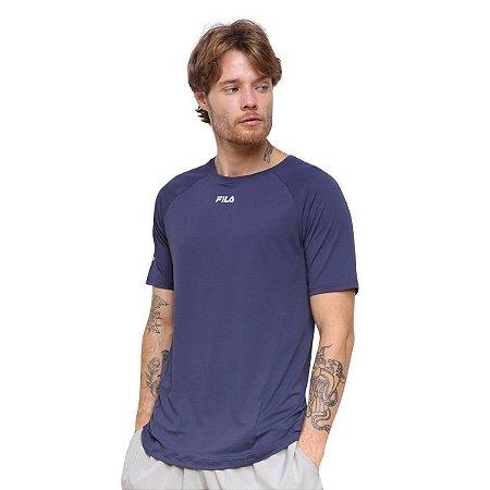 Camiseta Fila Bio Antiviral Masculina - Marinho
