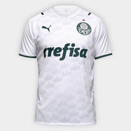 Camisa Palmeiras II 21/22 s/n° Torcedor Puma Masculina - Branco