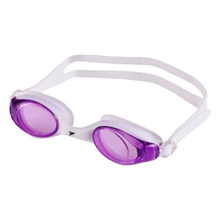 Oculos Natação Unisex Poker Myrtos Ultra - Branco+Roxo