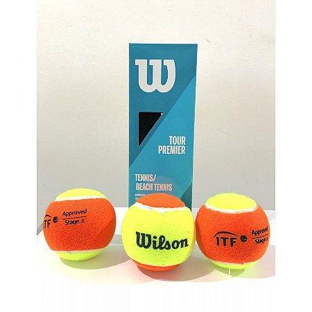 Bola de Beach Tennis Tour Premier Pack com 3 bolas Wilson