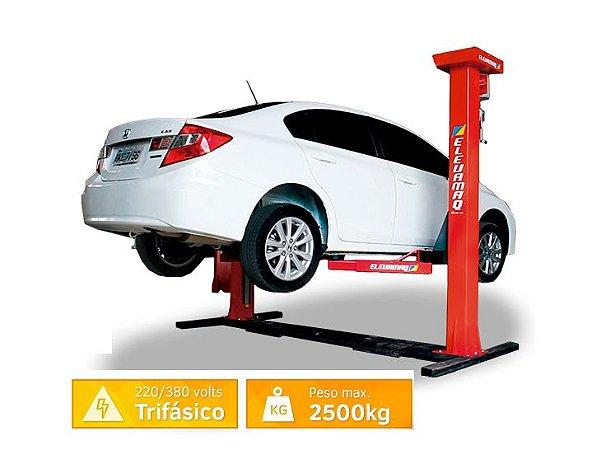 Elevador Automotivo para Veículos Leves 2500KG TRIFÁSICO