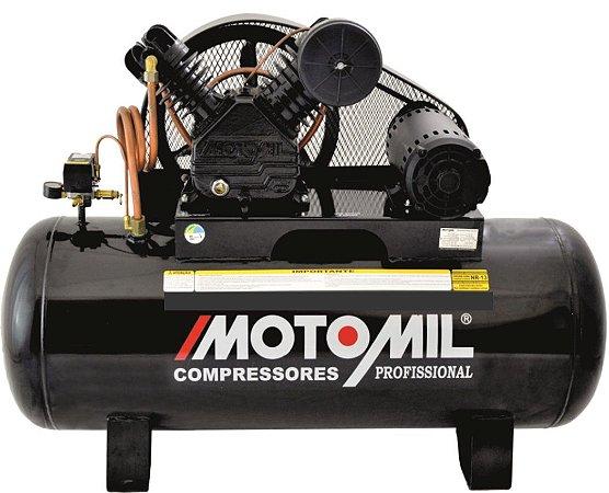 Compressor De Ar 5Hp Trifásico 20/250L - 220/380V