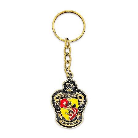 Chaveiro Grifinória - Harry Potter Metal Dourado