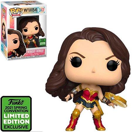 Pop! DC: Wonder Woman W/ Tiara Boomerang #347 - Funko