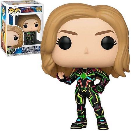 Pop! Marvel: Capitain Marvel W/ Neon Suit #516 - Funko