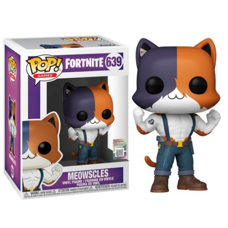 Pop! Fortnite: Meowscles #639 - Funko