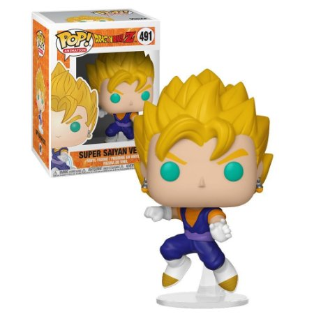 Pop! Dragon Ball: Super Saiyan Vegito #491 - Funko