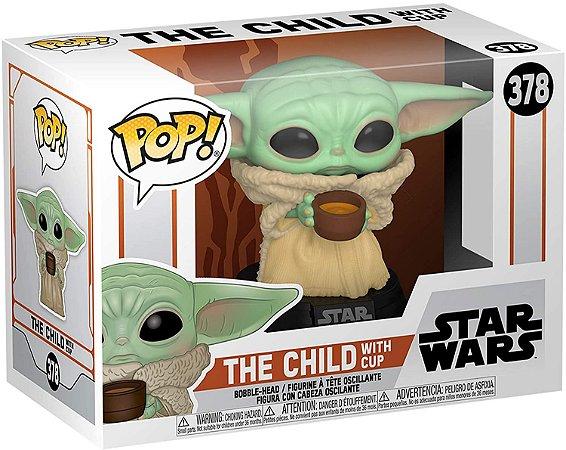 Pop! Mandalorian: Baby Yoda With cup #378 - Funko