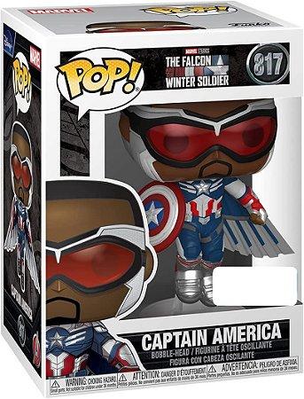 Pop! Marvel: The Falcon Captain America # 817 - Funko