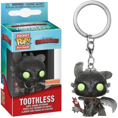 KeyChain How to Train Your Dragon: Toothless - Funko