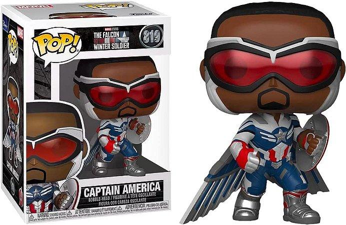 Pop! Marvel: The Falcon(Capitain america) #819 - Funko