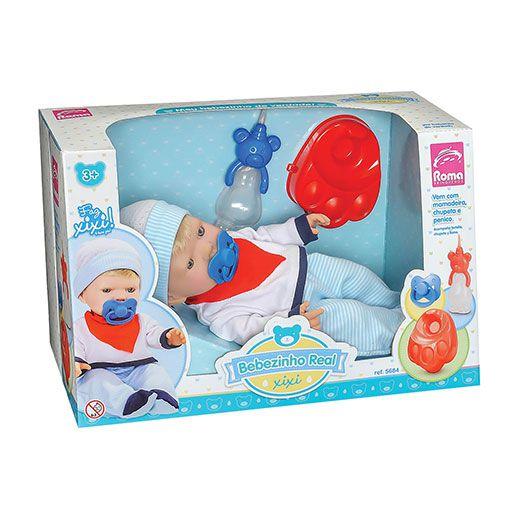 Boneco Bebezinho Real XIxi com Acessorio