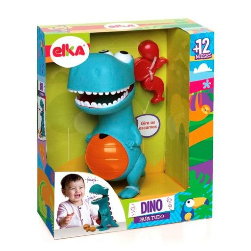 Jogo Dino Papa Tudo - Elka