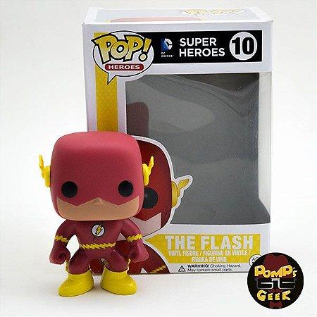 Pop The Flash #10 - DC Super Heroes - Funko