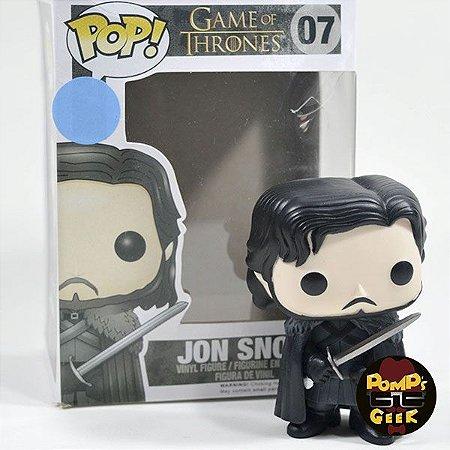 Funko Pop Jon Snow - Série Game Of Thrones N 07