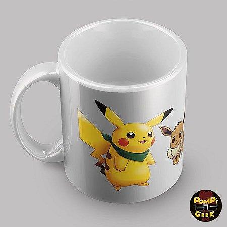 Caneca Cerâmica  Pokémon