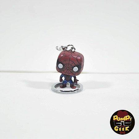 Pocket Pop Keychains! Chaveiro Marvel Spider-Man