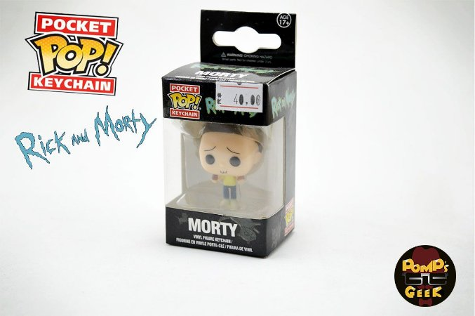Pocket Pop Funko! Chaveiro Morty
