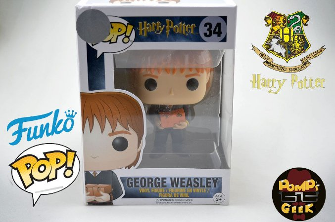 Pop George Weasley: Harry Potter #34 - Funko