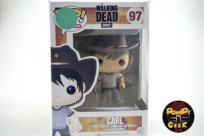 Pop The Walking Dead  Carl Funko  #97