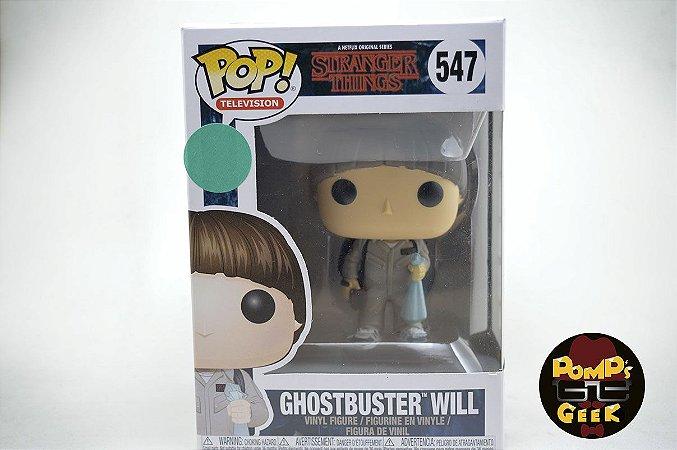 Pop Stranger Things - Ghostbuster Will Funko - #547