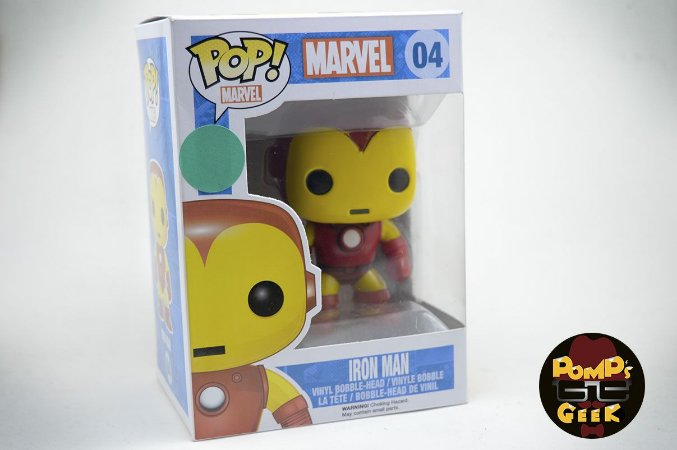 Pop Marvel - Iron Man Funko - #04