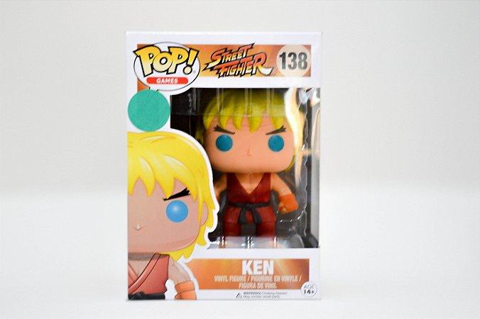 Pop Street Fighter - Ken Funko - #138