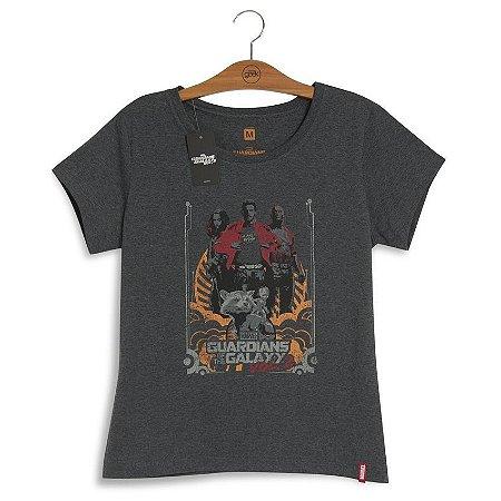 Camiseta Feminina Marvel Guardiões Volume 2