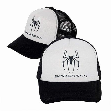 Boné Spider-man Preto Personalizado