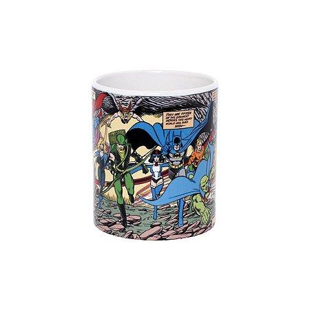 Caneca Personalizada Cerâmica 325 Ml Liga Da Justiça