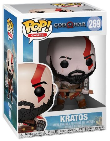 Pop! Kratos: God Of War #269 - Funko