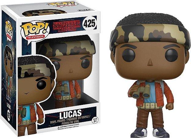 Funko Pop Stranger Things - Lucas Nº425