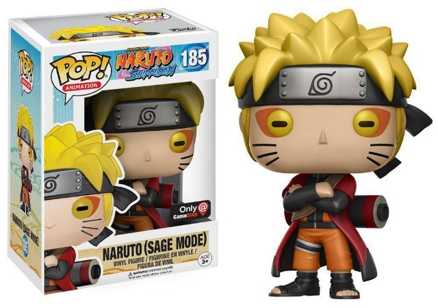 Funko Pop Naruto - Naruto(Sage Mode) Nº 185