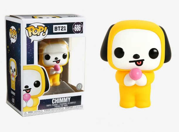 Pop BT21- Chimmy #686 - Funko