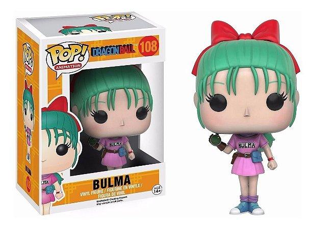 Pop Bulma: Dragon Ball #108 - Funko
