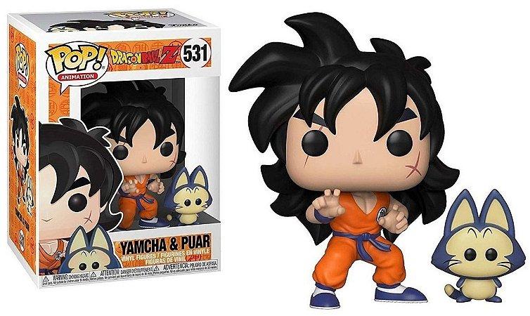 Pop! Yamcha & Puar: Dragonball Z #531 - Funko